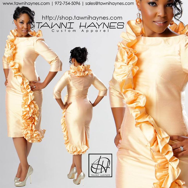 Ruffle-Pencil-Dress